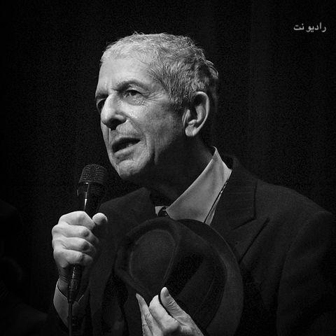 Leonard Cohen   Veda radio mp3 image رادیو نت لئونارد کوهن