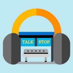 Talkstop LOGO آموزش زبان انگلیسی Talk Stop